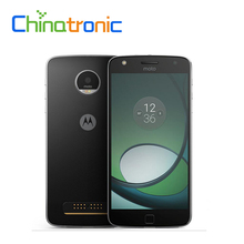"Original Motorola MOTO Z 4G FDD LTE Mobile Phone Snapdragon 820 Quad Core Dual SIM 5.5""Quad HD 2K OLED 4G RAM Fingerprint NFC(China)"