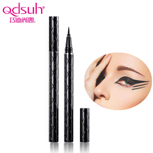 Itao Recommended Qdsuh Ink Art Liquid Eyeliner Pen Waterproof Makeup Long Lasting Super Smooth Soft Brush