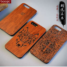 Unique OnePlus 5 A5000 Slim Bamboo Wood PC Back Cover Case For Oneplus Five One plus 5 Phone Cases(China)