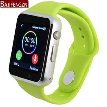 Silicone strap smart watch android phone support SIM men women sport wristwatch camera Pedometer PK GT08 DZ09 - ba ji feng Store store