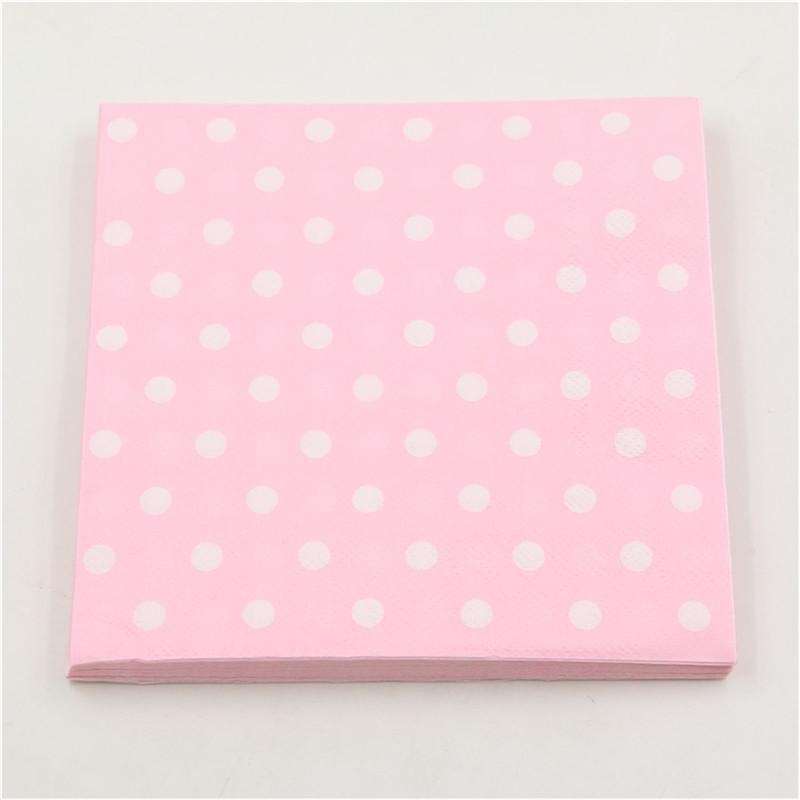 pure-color-pink-blue-polka-dot-napkins-20pcs-food-grade-for-baby-boy-girls-Paper-Napkins (2)