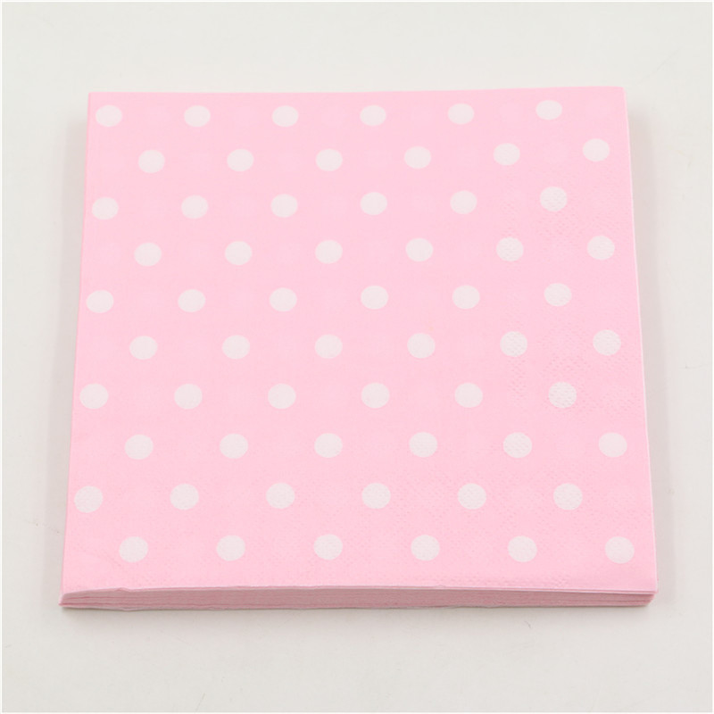 pure-color-pink-blue-polka-dot-napkins-20pcs-food-grade-for-baby-boy-girls-Paper-Napkins (2)
