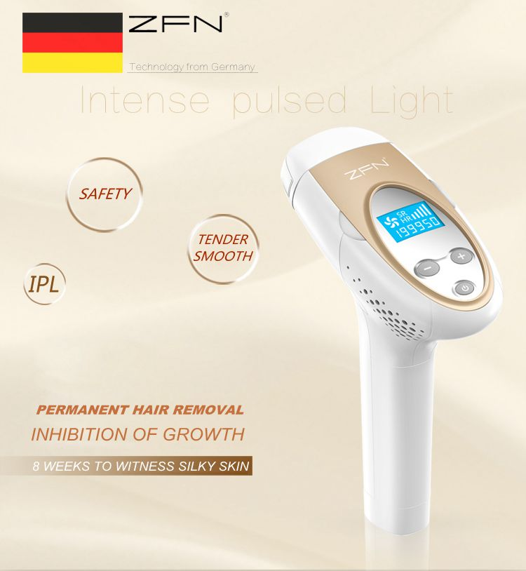 Depilates household laser epilator full-body icepo...