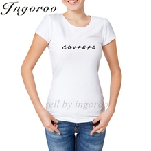 Ingoroo Kawaii Rose T Shirt Queen Japanese Anime Womens Tshirts Girl Power Unicorn Women's Shirt Feminist Rihanna Casual Tees