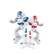 Flytec FQ4005 Obstacle Avoidance Sing & Dance Gesture Control Intelligent RCSence Robot Action & Toy Figures more than 3years(China)