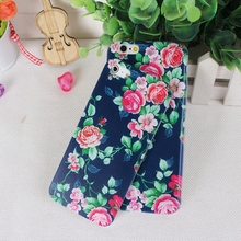 For Apple Iphone 5 5 S 5SE 6 6S 7 Mobile Phone Bag Case Pretty Floral Design Ultra Thin Soft Phone Case Plant Phone Shell Protec
