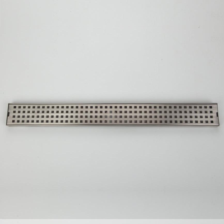 USW  solid stainless steel square Nickel Brush floor drain bathroom shower floor drain<br><br>Aliexpress