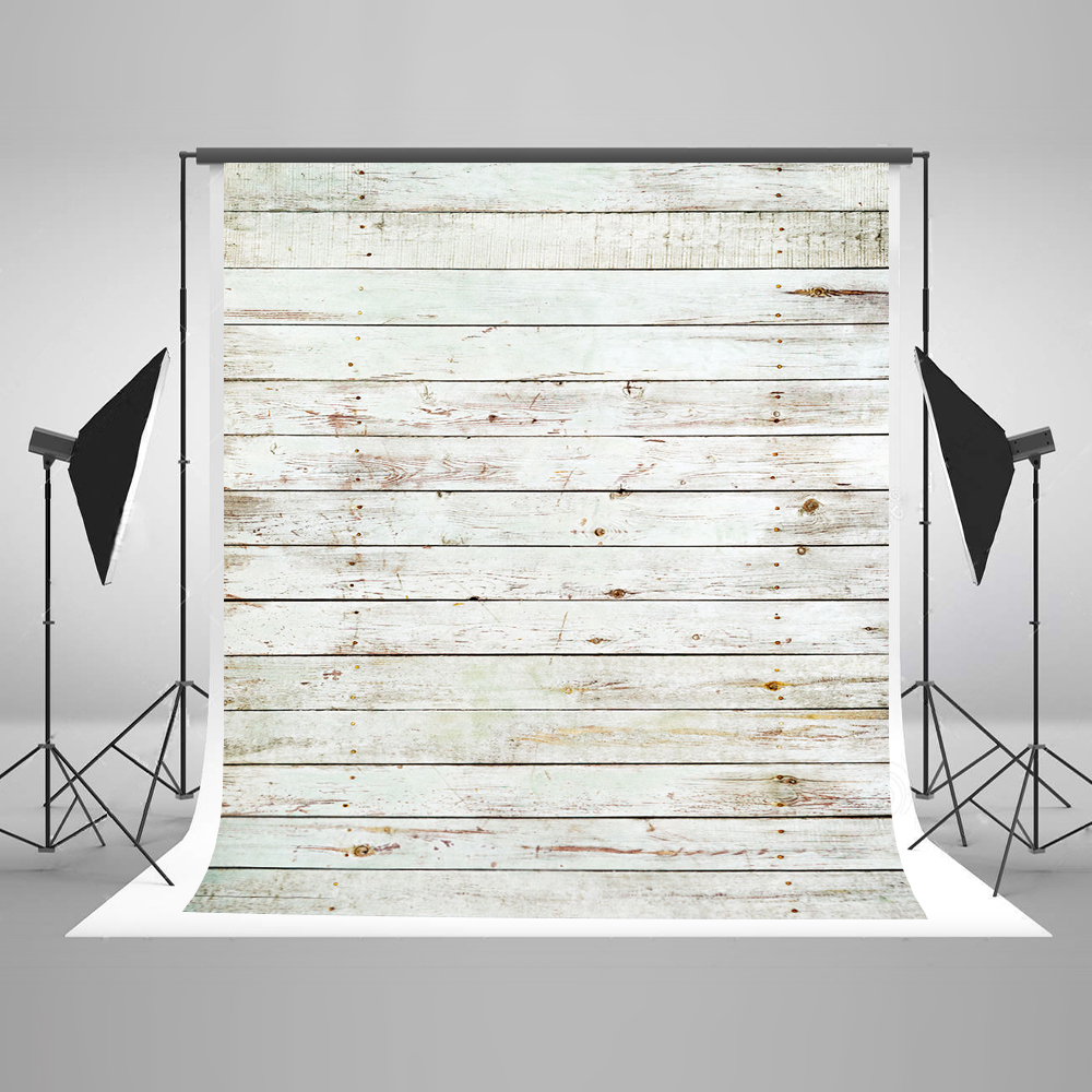 Kate 5x7 Backdrop Paper for Photography Cotton Collapsible Photo Backdrops Wooden Floor White Photographic Backgrounds for Photo<br>