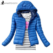 2017 New Fashion Female Women Padded Coat Winter Clothing Winter Coat Women Overcoat Down Jacket Blue Coffee 5 Colors Available(China)