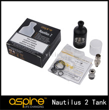 100% Original Aspire Nautilus 2 Tank bottom air flow Nautilus2 Atomizer Fit with Nautilus BVC Coil 0.7ohm