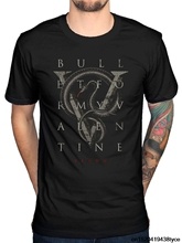 Gildan 2017 Customizes Bullet For My Valentine V Is For Vemon T Shirt The Venom Rare Cu Printed T Shirt Own Style Tees(China)