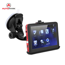 "5"" HD Touch Screen Portable Car GPS Navigation 128MB RAM 4GB FM Video Player Car Navigator(China)"