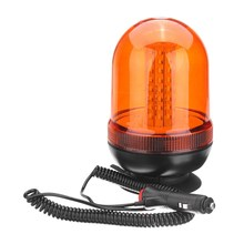 NEW 80 LED Magnetic Mount Rotating Flashing Amber Beacon Recovery Warning Light Traffic Light Roadway Safety(China)