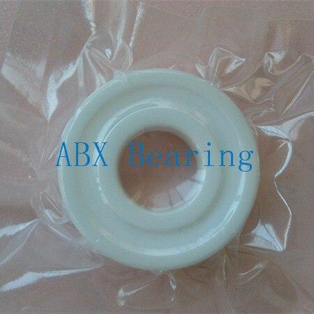 6202-2RS full ZrO2 ceramic deep groove ball bearing 15x35x11mm 6202 2RS P5 ABEC5<br>