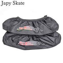 Japy Skate 4 Wheels Seba roller waterproof nylon shoe bag shoes cover roller tool holder shoes cover wheels set good quality(China)