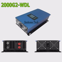2000W wind grid tie inverter with Dump Load resistor,45-90V to AC230V MPPT Pure Sine Wave for DC wind turbine grid tie system