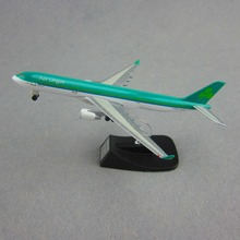 13cm Alloy Metal Airplane Model Air Aer Lingus Airbus 330 A330 Airlines Airways Plane Model W Stand Wheels Aircraft Gift(China)
