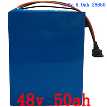 e-Bike Battery 48V 50Ah 2000W Bafang Motor Electric Bicycle Battery 48V With 54.6V Charger 50A BMS Safe Lithium Battery Pack