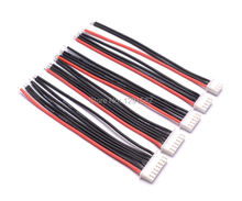 10pcs 10CM 100MM RC Lipo Battery Balance Charger Plug 2s 3s 4s 5s 6s 22AWG Cable For IMAX B3 B6