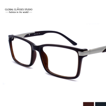 Rectangle Shape Blue Cutting Lens Flexible Light Eyeglasses For Online Business Worker Free Shipping Computer Glasses BBO4152(China)
