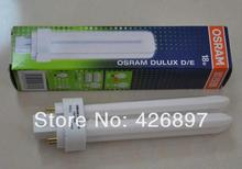 OSRAM DULUX D/E 18W compact fluorescent lamp tube,LUMILUX 4 pins,D/E 18W/827 18W/840 18W/865,downlight energy saving bulb(China)