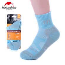 NatureHike Outdoor Sock Quick-Drying Running Cotton Sport Socks Bottom Professional Basketball Socks