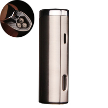 Cylinder butane torch metal 3 jet turbo gas pen lighters,windproof lighters, cigarette pipes Cigar,outdoor lamp