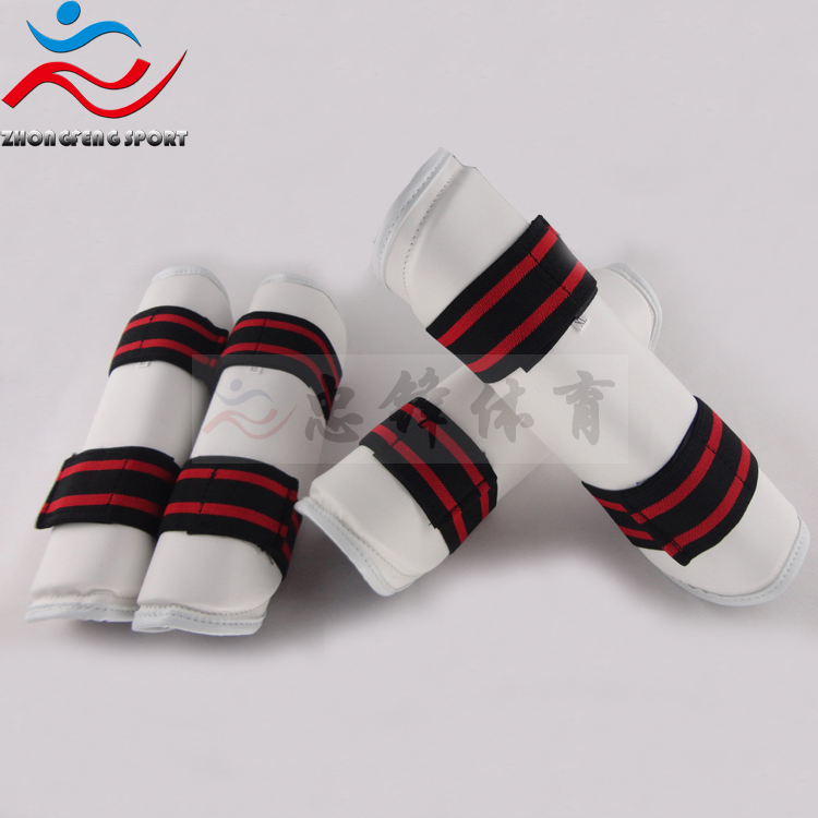 Child adult flanchard taekwondo shin guard armguards kneepad shank protector 4 piece high quality gym protector free shipping<br><br>Aliexpress