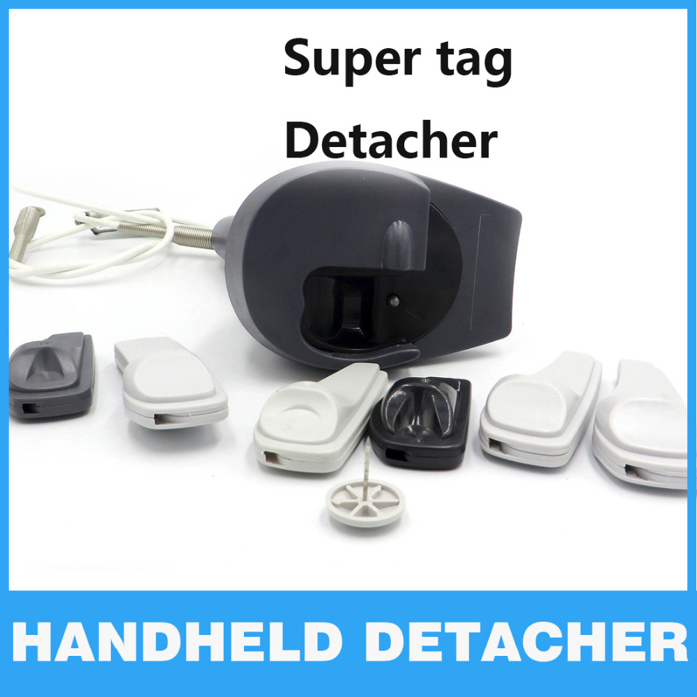 EAS Security Detacher Gun AM EAS Clothing Alarm Opener Magnet tag remover detacher hook Supermarket Handheld Detacher Lockpick<br>