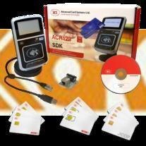 ACR123S Intelligent Contactless Reader with Software NFC Development Kit rfid writer