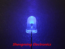 100pcs Ultra Violet UV 5mm 2000mcd LED Lamp Light Purple super bright
