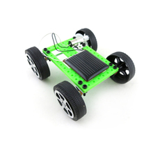 DIY Car Kit Children Educational Gadget Hobby convenient to store and carry Funny Mini Solar Powered forward Toy(China)