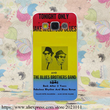 1835X The Blues Brothers Hard Case Cover for Samsung A3 A5 7 8 J5 7 & Note 7 5 4 3 2 & Grand 2 & Prime