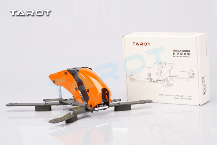 Tarot Robocat TL280H Carbon Glass Fiber Mixed Mini 280 FPV Quadcopter Frame Kit for FPV<br>