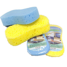 10pcs/Set Vacuum compressed sponge Car wash sponge magic car cleaning Vacuum sponge Cleaning Accessories