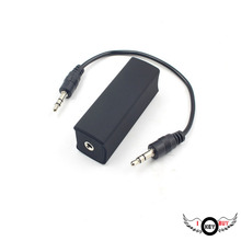 Car Speaker Audio Total Isolator Anti-Interference Noise Receptor Noise Filter Eliminate Beep Noise Bluetooth Receiver 3.5mm(China)