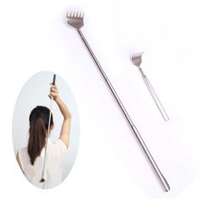 Telescopic Back Scratcher Small Useful Stainless Telescopic Portable Extendable Handy Pen Clip Back Scratcher Scratch Tool Z3