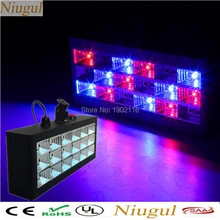 Niugul LED Strobe light 18PCS LED flash RGB Stage Sound Actived Strobe Lamps /Christmas party led lights/KTV Disco dj lighting(China)