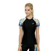 Women/girls Compression T-shirt Breathable Short Sleeve Tee Bicycle  Multi Colors Quick Dry Clothing Outdoors Exercise Tee