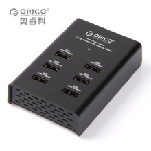 ORICO DUB-6P 6 Port USB Desktop Charger for Tablet PC 2.4A*6 Output with CE/FCC/3C/ROHS-Black/White(China)