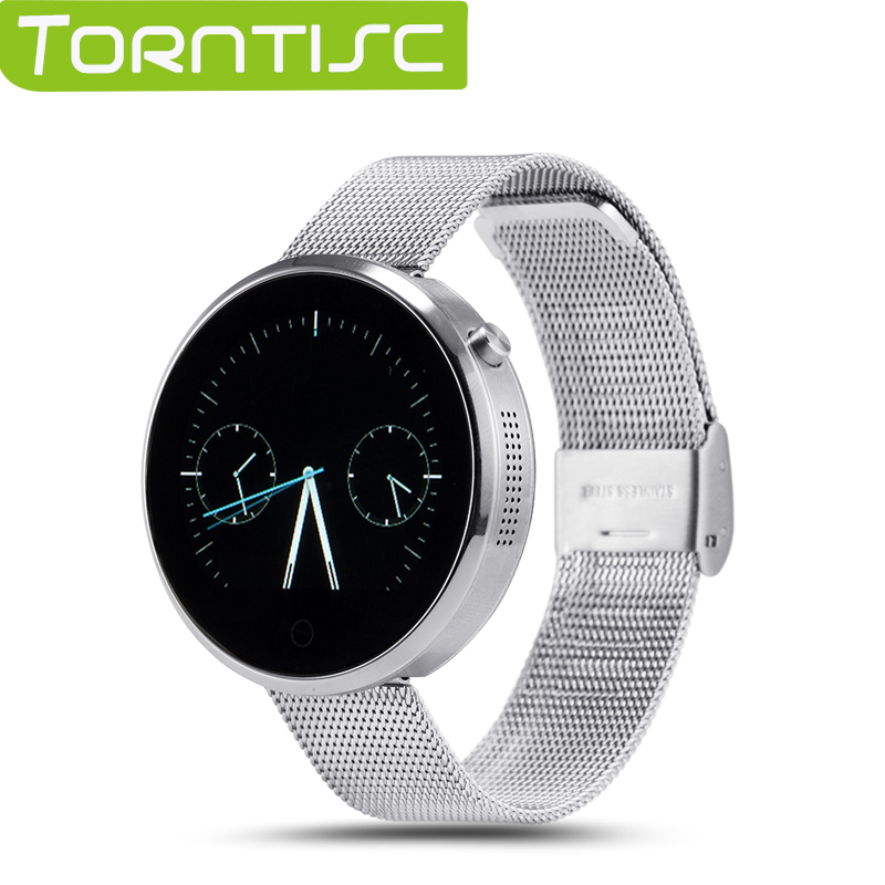 Torntisc DM360 Bluetooth Heart-rate Monitor Smart Watch Cambered Surface Capacitive Touch Screen For Android &amp; IOS Phones<br><br>Aliexpress