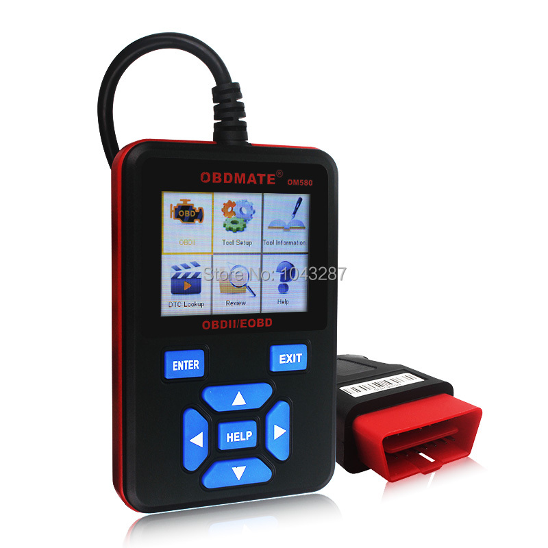 Autophix OBDMate OM580 OBD II Code Reader Auto Scan Tool Engine ABS DSC SRS Fault Diagnostic Tool Full Mode Code Reader(China (Mainland))
