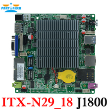 12*12cm Baytrail Motherboard with Dual Lan Quad Core Mainboard J1800 nano itx motherboard OEM ITX-N29_18
