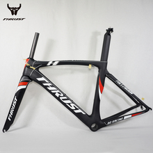 Carbon Road Frame Bicycles 2017 DI2 V brake Road Bike Chinese Carbon Frames Cycling Bicycle Frame With Fork Carbon Road Bike(China)