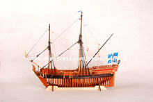 NIDALE Model Classic armed merchant Ship Scale 1/48 the Barque longue La Belle1684 wooden sailboat model kit(China)