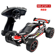1 20 2.4GHZ 2WD Radio Remote Control Off Road RC RTR Racing Car Truck hot sale free shipping17Nov06(China)