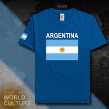 Argentina mens t shirt Argentine 2017 jerseys nations Sporting team 100% cotton t-shirt gyms clothing tops tees country flag AR(China)