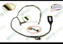 "2pcs/lot Genuine New Vedio Flex LCD cable for Toshiba Satellite L550 L555 L555D Series (17.3"") - DC02000S900(China)"
