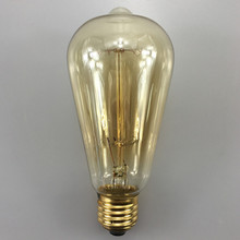 Buy 4pcs 40W/60W Classical Vintage Retro E27 Filament ST64 Edison Bulb Light Warm White 110V 220V Antique Incandescent Bulb Lamp for $13.46 in AliExpress store