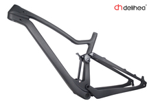 DeliHea Free Ship 2017 racing bikes frame carbon Road Bicycle Frameset ud Carbon Frame road bike full suspension 15.5*/17.5*/19(China)